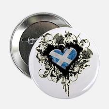 "Scottish Heart 2.25"" Button"