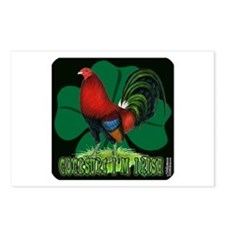 Cocksure I'm Irish! Postcards (Package of 8)
