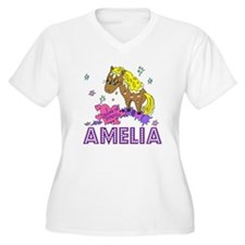 I Dream Of Ponies Amelia T-Shirt