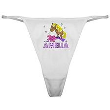 I Dream Of Ponies Amelia Classic Thong