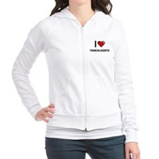 I love Toxicologists Fitted Hoodie