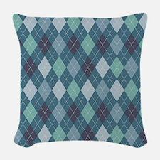 Arlington Argyle Pattern Woven Throw Pillow