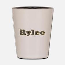 Rylee Gold Diamond Bling Shot Glass