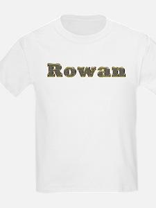 Rowan Gold Diamond Bling T-Shirt