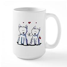 KiniArt Westie Friends Mug