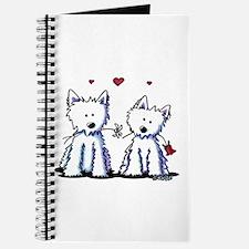 KiniArt Westie Friends Journal