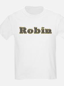 Robin Gold Diamond Bling T-Shirt