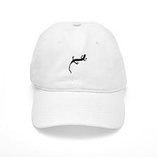 Lizard Silhouette Baseball Baseball Cap
