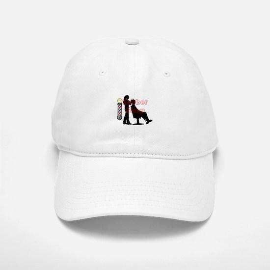 Lady Barber Shop Design Baseball Baseball Baseball Cap