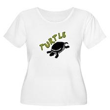 Turtle Plus Size T-Shirt