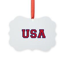 USA Logo Ornament