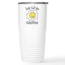 Funny Sunshine Travel Mug