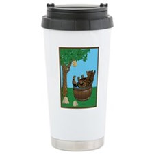 Bear in tub-Honey.png Travel Mug