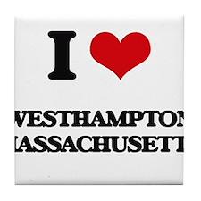 I love Westhampton Massachusetts Tile Coaster