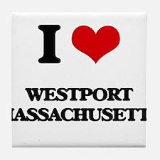 I love Westport Massachusetts Tile Coaster
