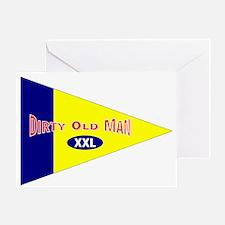 Old Mens Club Greeting Card