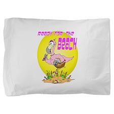 READYFORBEACH.png Pillow Sham