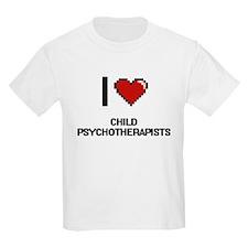 I love Child Psychotherapists T-Shirt