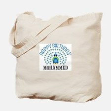 Happy Birthday MOHAMMED (peac Tote Bag