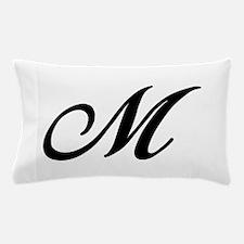 M-Bir black Pillow Case