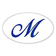 M-Bir blue2 Decal