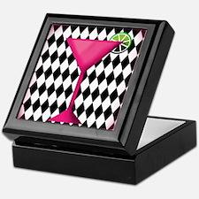 Pink Martini Black Cream Keepsake Box