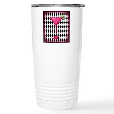 Pink Martini Black Cream Travel Mug