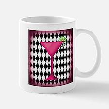 Pink Martini Black Cream Mugs