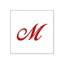 M-Bir red2 Sticker