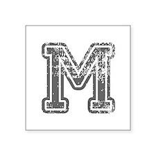 M-Col gray Sticker