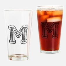 M-Col gray Drinking Glass