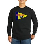 Old Mens Club Long Sleeve Dark T-Shirt