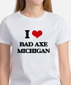 I love Bad Axe Michigan T-Shirt