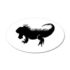 Iguana Silhouette Wall Decal