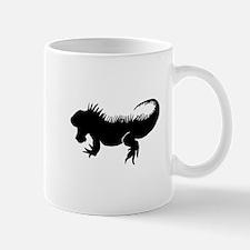 Iguana Silhouette Mugs