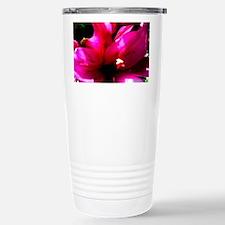 Pink Lily Travel Mug