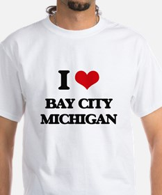 I love Bay City Michigan T-Shirt