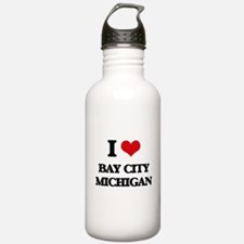 I love Bay City Michig Water Bottle
