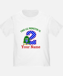 2nd Birthday Monster T-Shirt