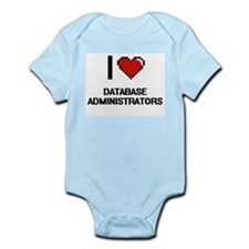 I love Database Administrators Body Suit