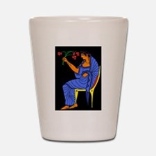 Women From Venus Shot Glass