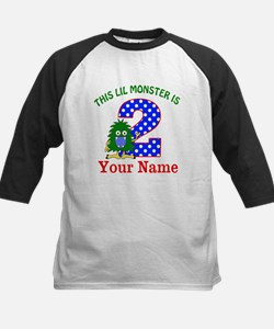 2nd Birthday Monster Baseball Jersey