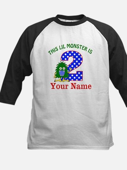 2nd Birthday Monster Baseball Jersey