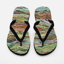 Yarn Flip Flops