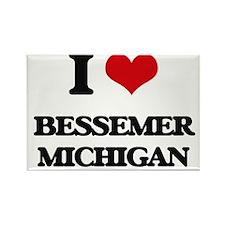 I love Bessemer Michigan Magnets