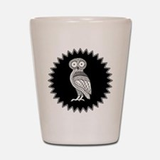 Athenas Owl Shot Glass