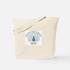Happy Birthday SEAN (peacock) Tote Bag