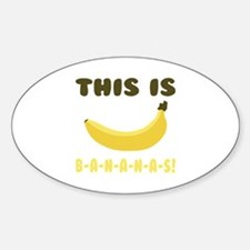 This Is Bananas Decal