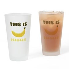 This Is Bananas Drinking Glass