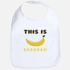 This Is Bananas Bib